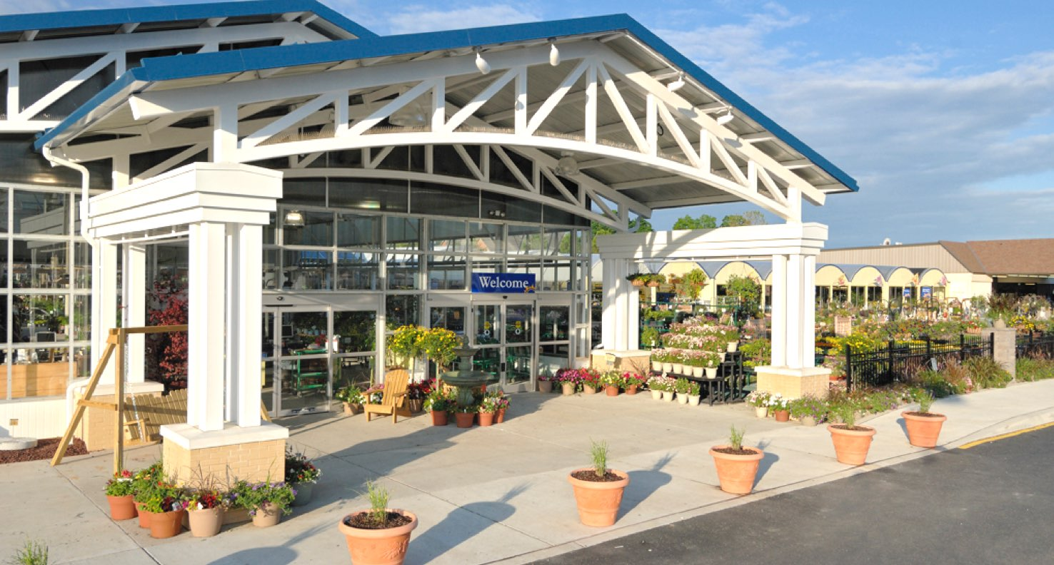 Exterior of the Stauffer's garden center expansion